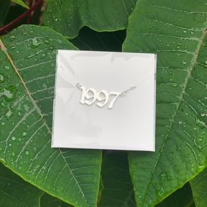 "NEW!! ☘️ Birth Year Necklace ""1997"""